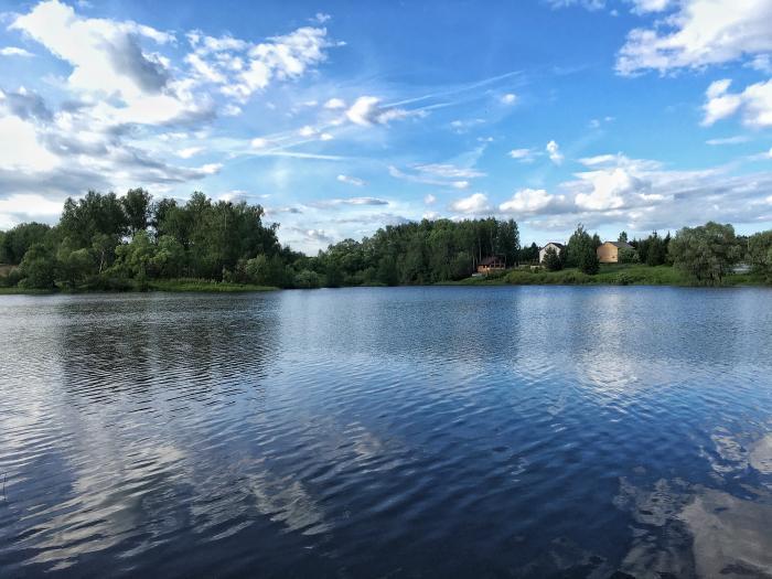Рыбалка на Лыковском пруду