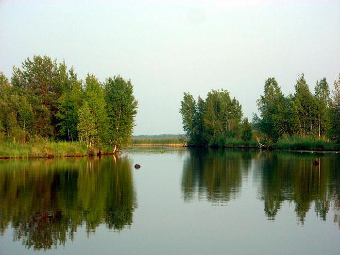 Муромское озеро в Шатуре