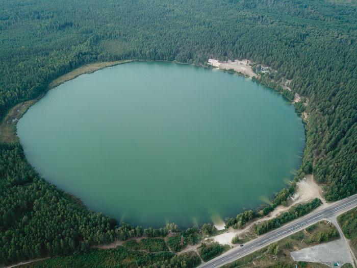 Белое озеро в Шатуре