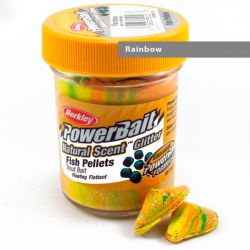 Паста форелевая Berkley Powerbait Natural Scent Glitter Trout Bait (50 г) Fish Pellet Rainbow