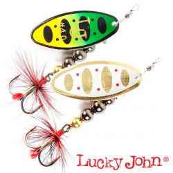 Блесна вращающаяся Lucky John Shelt Blade Tungsten Body 20.0g, 04