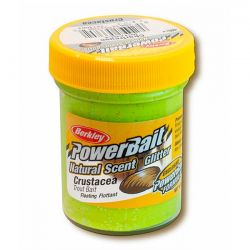Паста форелевая Berkley Powerbait Natural Scent Glitter Trout Bait (50 г) Crustacea Chartreuse