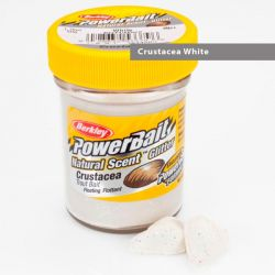 Паста форелевая Berkley Powerbait Natural Scent Glitter Trout Bait (50 г) Crustacea White Garlic Black