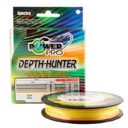 Леска плетёная Power Pro Depth Hunter 150m Multicolor