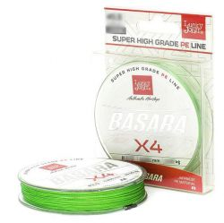 Плетеная леска Lucky John Basara Light Green 125m