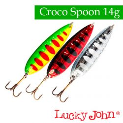 Блесна Lucky John Croco Spoon 59mm/14g