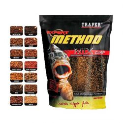 Прикормка Traper Method Mix 1 kg