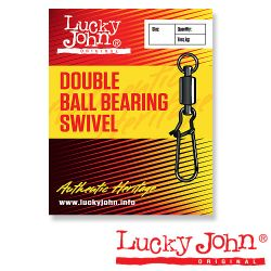 Вертлюги с застежкой Lucky John Double Ball Bearing and Fastlock