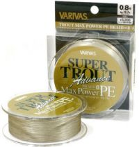 Леска плетёная Varivas Super Trout Advance Max Power PE 150m