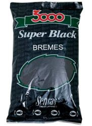Прикормка Sensas 3000 Super Black 1kg