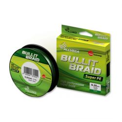 Леска плетёная Allvega Bullit Braid 135m Dark Green