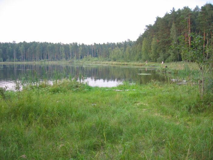 Рыбалка на Черном озере